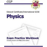 Edexcel International GCSE Physics Exam Practice Workbook with Answers (A*-G Course) by CGP Books