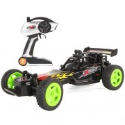 Jjx Tech 1:16 2.4 G Remote Control Car High Speed 4 Wd Shaft Drive Car Toy Radio Controlled Rc Four Wheel Crash Shock Resisstant Chargeable Off Road Vehicle Green