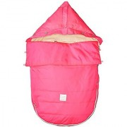 7AM Enfant Bee Pod Baby Bunting Bag for Strollers and Car-Seats with Removable Back Panel Neon Pink Small/Medium