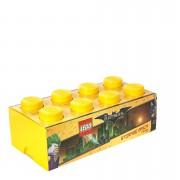 LEGO Batman Storage Brick 8 - Bright Yellow
