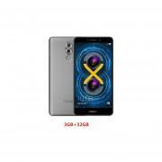Smartphone Libre Huawei Honor 6X Android 6.0 3G Kirin 655 Octa Core 3GB+32GB Desbloqueado -Gris EU Plug