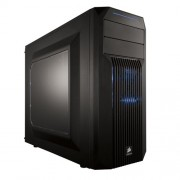 Corsair CC-9011057-WW Case Essential Gaming Mid Tower Atx Carbide Spec-02 Con Finestra e Ventola Frontale a LED, Blu/Nero
