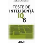 Teste de inteligenta IQ 6 - Ken Russell Philip Carter