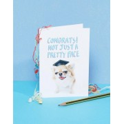 Jolly Awesome Поздравительная открытка для выпускника с надписью Congrats Jolly Awes