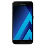 "Telefon Mobil Samsung Galaxy A3 (2017), Procesor Octa-Core 1.6GHz, Super AMOLED capacitive touchscreen 4.7"", 2GB RAM, 16GB Flash, 13MP, 4G, Wi-Fi, Android (Negru) + Cartela SIM Orange PrePay, 6 euro credit, 4 GB internet 4G, 2,000 minute nationale si inte"