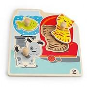 Hape - My Pets Wooden Knob Puzzle
