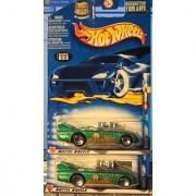 Hot Wheels 2002 He-Man Double Vision 3/4 093 Wheel Variation Green