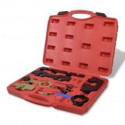 vidaXL К-т за диагностика на двигатели, 11 части, BMW M42/44/50/52/54/56