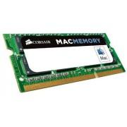Corsair CMSA4GX3M1A1066C7 Apple Mac Memoria da 4 GB (1x4 GB), DDR3, 1066 MHz, CL7, SODIMM, Certificata Apple