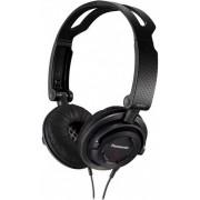 Casti Panasonic RP-DJS150MEK, Stereo, 1.2m (Negre)
