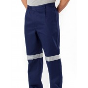 Lowes Reflective Work Trousers - Blue 77