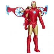 Figura Marvel Titan héroe de la serie de Iron Man Con Hover Paquete