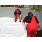 Геотектилна подложка за басейн 5,5x3,7 м