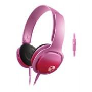 Philips SHO3305FIN/00 O'Neill Cruz On-Ear Headband Headphone with Mic (Pink)