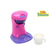 Little Treasures Pretend & Play Coffee Maker Kitchen Toy Set