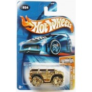 Hot Wheels 2004 Fe Blings Hummer H2 Gold K-Mart Day Door Prize Edition by Hot Wheels