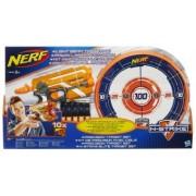 Nerf Set Pusca + Tinta - Precision Target