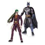 Injustice Pack 2 Figurines Batman Vs The Joker 10 Cm