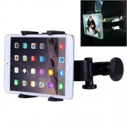 360 Degree Rotation Headrest Tablet Kit Holder for iPad mini / iPad Air All Tablet PC(Black)
