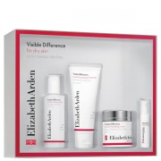 Elizabeth Arden Visible Difference Gentle Hydrating Set (Gel Curatara 30ml + Toner 50ml + Ser Ochi 15ml + Crema Hidratanta 30ml SPF15*)