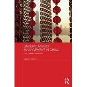 Understanding Management in China by Malcolm Warner