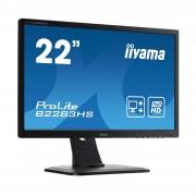 Ecran iiyama 21.5' LED - ProLite B2283HS-B1 1920 x 1080 pixels - 2 ms - Format large 16/9 - Dalle TN - HDMI - Pivot - Noir