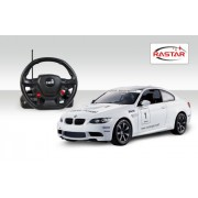 Rastar 1:14 Remote Control BMW M3 with Steering Wheel Controller, Multi Color