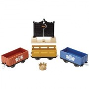 Fisher-Price Thomas The Train TrackMaster: Royal Castle Gates Delivery Cargo and Cars