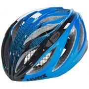 UVEX boss race Helm blue-black 55-60 cm Rennrad Helme