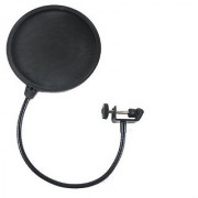#1 Microphone Pop Filter -Professional Premium Studio Grade shield - High Quality Strong Metal & Mesh with Gooseneck - Perfect for a CLEAR Dynamic Voice Recording - Best Sound Accessory - Protect & Shield your Investment!