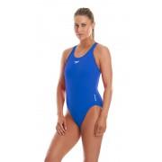 speedo Essential Endurance + Medalist Swimsuit Women neon blue 32 2017 Schwimmen