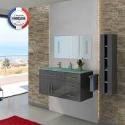 Distribain Meubles salle de bain DIS945GT gris taupe