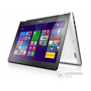Laptop Lenovo Ideapad Yoga 500 80N400T1HV Windows 10, alb-negru