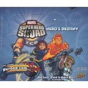 Marvel Super Hero Squad Trading Card Game Heros Destiny Booster Box