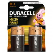 Pile Duracell Plus - torcia - D - 1,5 V - MN1300B2 (conf.2) - 283961 - Duracell