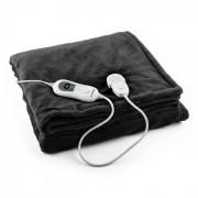 Dr. Watson XL електрическо одеяло 120W, приятна, 180x130cm, плюш, черен цвят Черно | XL