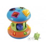 Miniland Rollerspin interactív, jucărie muzicală, introducere forme (ML-97252)