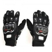 Biking/Bike Racing Pro-Biker Motorcycle Riding Bike Gloves BlACK Size -XL