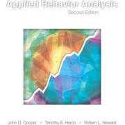 Applied Behavior Analysis by John O. Cooper