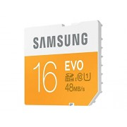 Samsung 16GB EVO Class 10 SDHC up to 48MB/s (MB-SP16D/AM)