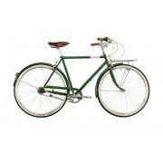 Creme Caferacer Doppio Bicicletta da città 7-speed verde 49,5 cm City bike