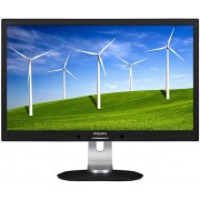 "Monitor IPS LED Philips 27"" 272B4QPJCB/00, DVI-D, MHL-HDMI, DisplayPort, 4ms GTG, Boxe (Negru)"