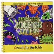 Creativity For Kids Artivity Book Gross and Yucky Monsters