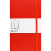 Moleskine Large Address Book Red by Moleskine