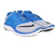 Nike FS LITE RUN 3 Running Shoes(Grey, White, Black)