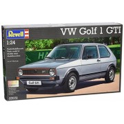 Revell Rv160 1:24 Vw Golf 1 Gti Car Hobby Craft Model Kit Pack Set