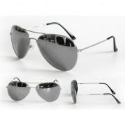 Politiebril met zilver