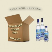 Kartón - Vodka Švestková 10x1L 40%