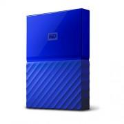 WD My Passport 1TB Portable External Hard Drive 3.0 USB (Blue) WDBYNN0010BBL-WESN