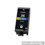CANON CLI-36 Color InkJet Cartridge (BS1511B001AA)